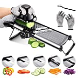 Best Mandolin Slicers - Mandoline Food Slicer Adjustable Thickness for Cheese Fruits Review
