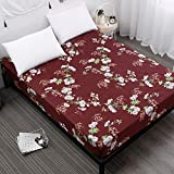 NHhuai Protector de colchón - Protector de colchón antialérgico Impresión a Prueba de Polvo y Humedad