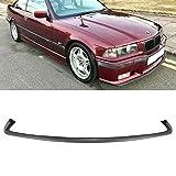 Replacement M3 Splitter Front Bumper Lip For BMW 3 Series 1995-1999 E36 Black
