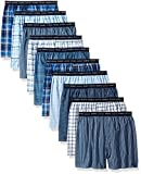 Hanes Men's 10-Pack Tartan Boxer, Assorted, X-Large