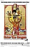 Theissen Enter The Dragon Bruce Lee Poster Borderless Vibrant Premium Glossy Movie Poster Various - Matte Poster Frameless Gift 11 x 17 pulgadas (28cm x 43cm) *IT-00226