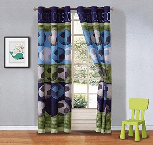 cortina futbol fabricante Fancy Linen