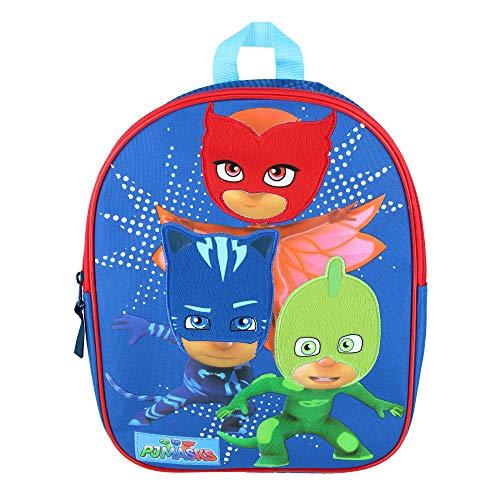 PJ Masks Keep Moving Mochila Infantil, 31 cm, 9 Liters, Azul (Blue)