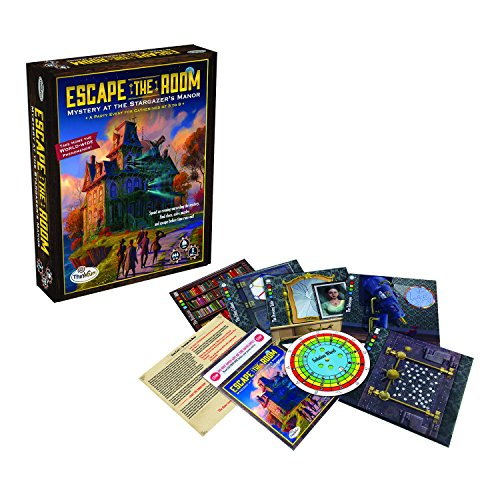 ThinkFun Escape The Room Stargazer's Manor Party-Spiel in englischer Sprache