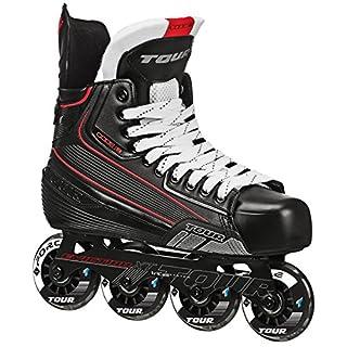 Tour Hockey Code 7 Senior Inline Hockey Skate, Black, 11 (B07287CMSD)   Amazon price tracker / tracking, Amazon price history charts, Amazon price watches, Amazon price drop alerts