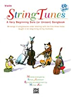 Stringtunes: A Very Beginning Solo or Unison Songbook, Violin