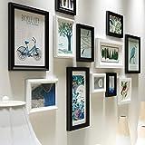 Pantalla de Fotos Colgando Foto Pared Escalera Creativa Madera combinación Foto...
