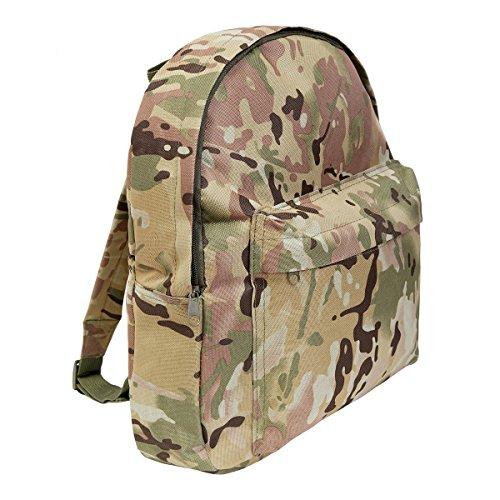 Armée Enfants style Multi Terrain Camo Rucksack 15ltr Camouflage Back Pack
