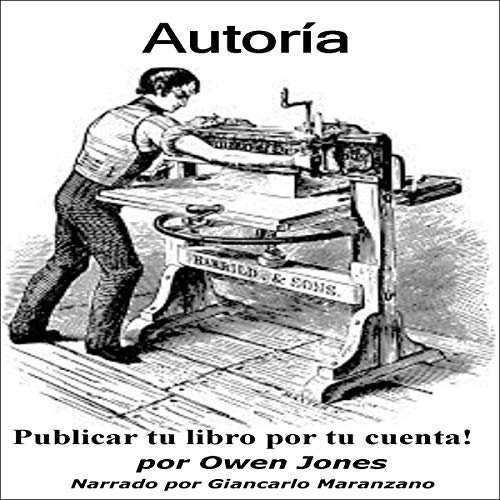 Autoría [Authorship] audiobook cover art