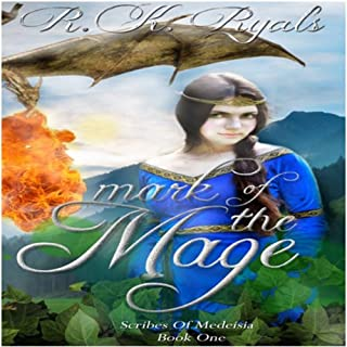 Mark of the Mage audiobook cover art