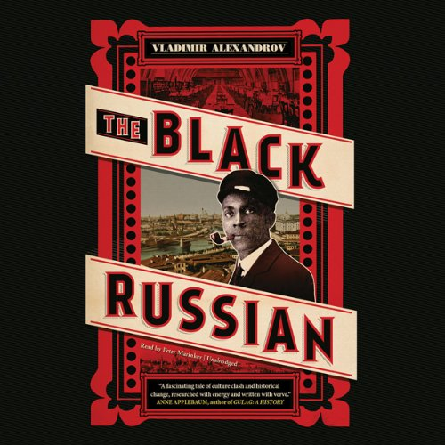 The Black Russian audiobook cover art