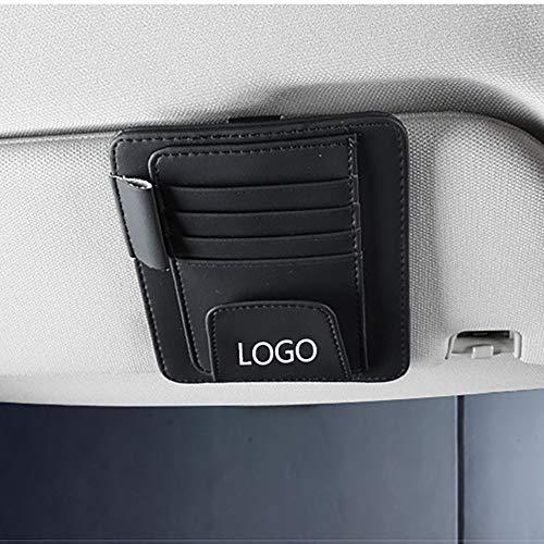 Auto Zonnebrillen Brilmontuur Oogbox Opslagbenodigdheden voor Jeep-logo Renegade wrangler jk Grand Cherokee PU-materiaal