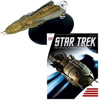 Eaglemoss Star Trek Starships Hirogen Holoship Vehicle with Magazine #119