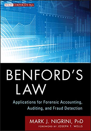Benford's Law (Wiley Corporate F&A)