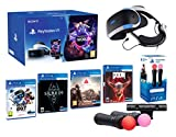 PlayStation VR2 [MegaPack]: Skyrim + Doom + Farpoint + Astro Bot + VR Worlds + 2 Mandos Twin Move...