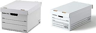 【セット買い】フェローズ バンカーズボックス 新703S A4サイズ 黒 3枚1セット 収納ボックス ふた付き 1005901 & バンカーズボックス 101 <ミニサイズ> ハンドライティング