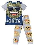 Emoji Jungen Schlafanzug 104