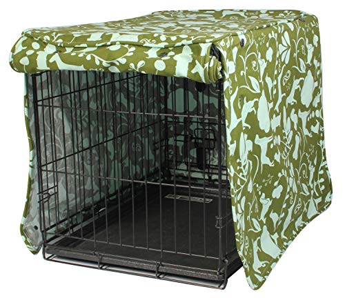 Molly Mutt Dog Crate Molly Mutt Dog Crate Cover - Dog Kennel Cover - Dog Crates Cover - Cover for Dog Crate - Create a Dog Crate That Looks Like furniture - Medium Kennel Cover - Fabric Crate Cover