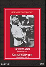 Bernstein in Japan-Schumann No.1/Shostakovich No.5