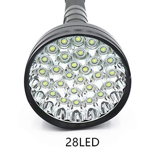 48000 Lumen 28 LED XML T6 18650 26650 d'exploration lampe de poche lampe de poche Lanterne, lampe de camping, lampe
