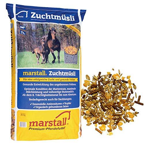 marstall Premium-Pferdefutter Zuchtmüsli, 1er Pack (1 x 20 kilograms)