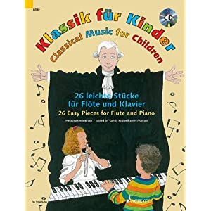 Classical Music for Children Flûte Traversiere +CD