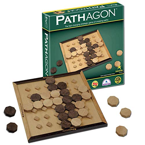Maranda Enterprises Pathagon Classic - The Fast Changing Strategy Game of Crossing Paths!, Multi