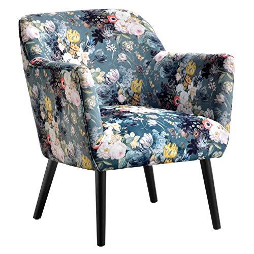 cute floral print arm chair for sale