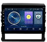 LYHY Nav Compatible con Toyota Land Cruiser 2016-2018 Sistema de navegación GPS para Coche Navegador satelital Reproductor Rastreador Bluetooth Auto Radio FM/Radio WiFi/Bluetooth/Pantalla táctil