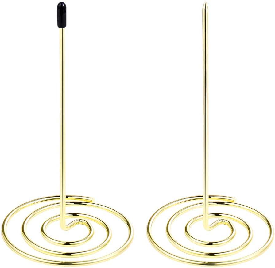 NUOBESTY Credence Ranking TOP14 Desk Receipt Holder Bill Rod Fork Stick Spike Straight
