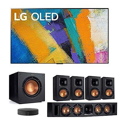 LG GXP OLED Gallery Design Smart 4K Ultra High Definition TV with a Klipsch WISA 5.1 System Bundle by LG