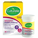 Culturelle Women's Healthy Balance Probiotic for Women   30 Count   with Probiotic Strains to Support Digestive, Immune and Vaginal Health*   with The Proven Effective Probiotic   Packaging May Vary