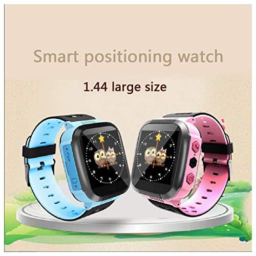 QWERASD kinderen Smart horloges Phone Tracker LBS lang stand-by SOS-klasse hinderbaar voor Help Touch Screen met twee soorten bellen voor 3-12 meisjes