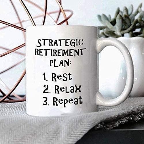 Ultra-Cheap Deals Strategic Retirement Plan Rest Time sale Relax Reti Repeat Mug Retired