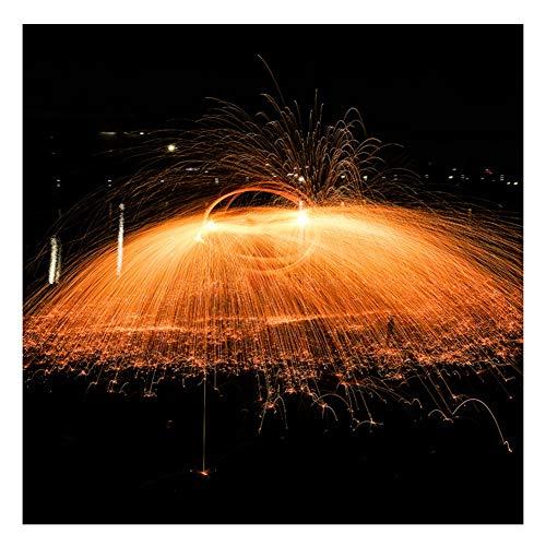 Lana de Acero Lana De Acero Fina, Accesorios Auxiliares De Fotografía, Fuegos Artificiales De Lana De Alambre De Acero, Herramientas Multifuncionales De Limpieza del Hogar, 10 Rollos