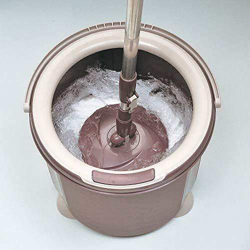 アズマ工業アズマ回転モップトルネード丸型セット拭き幅26cmブラウン一層式洗浄TSM545