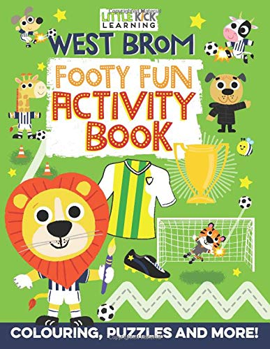 West Brom Footy Fun Activity Book
