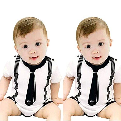 uBabamama Combinaison de Pyjama pour bébé 0-24 Mois - Multicolore - Taille Unique