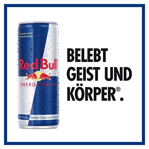 Red Bull Energy Drink Dosen Getränke 12er Palette, EINWEG (12 x 250 ml) - 5