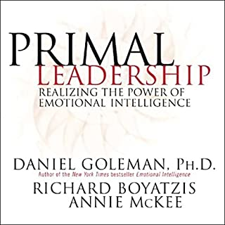 Primal Leadership     Realizing the Power of Emotional Intelligence              Auteur(s):                                                                                                                                 Daniel Goleman,                                                                                        Richard Boyatzis,                                                                                        Annie McKee                               Narrateur(s):                                                                                                                                 Arthur Morey                      Durée: 8 h et 36 min     6 évaluations     Au global 4,5