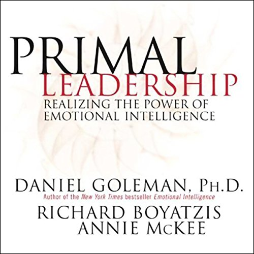 Page de couverture de Primal Leadership