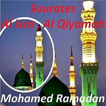 Sourates Al Isra, Al Qiyamah (Quran)