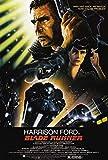 CoolPrintsuk - Blade Runner Poster - Bordlos Vibrant