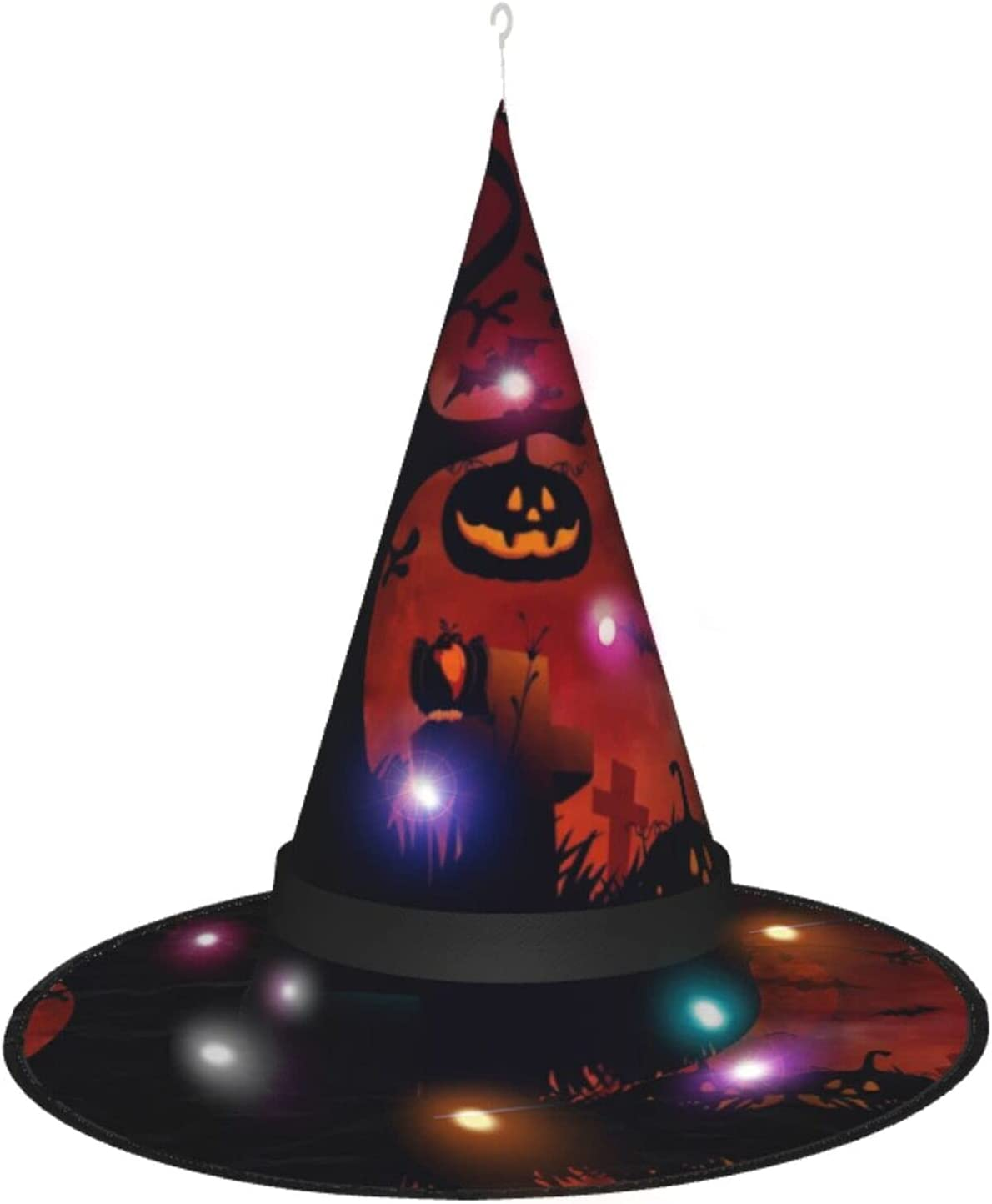 Halloween Witch Hat Pumpkin Hallowee Costume Accessory El Paso Mall High material