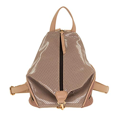 SOCCX Cecilia Backpack Taupe