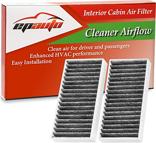 EPAuto CP777 (CF11777) Replacement for Chrysler/Jeep Premium Cabin Air Filter includes Activated Carbon