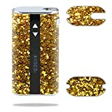 MightySkins Skin Compatible with Eleaf iStick 50W – Gold Dazzle   Protective, Durable, and Unique Vinyl Decal wrap Cover   Easy to Apply, Remove, and Change Styles   Made in The USA