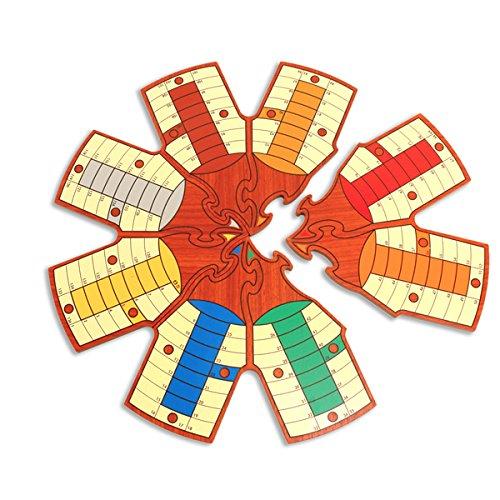 Juegos De La Antigüedad- Juego de Mesa, Color Madera Haya Haya (Games Pico Pao 405-C)