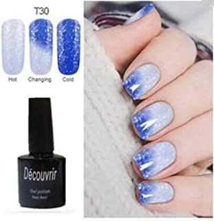 CoCocina Decouvrir Temperature Change Nail Uv Gel Color Changing Polish Gradient Thermal Chameleon Cute - 30