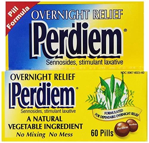 Price comparison product image Perdiem Overnight Relief Laxative Pills-60 ct